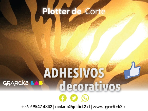 Adhesivos Decorativos